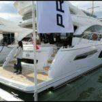 Мировая премьера яхты Princess 55 на боут-шоу в Саутгемптоне