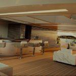 Элементы интерьера для супер-яхт из мрамора от Л. Дини